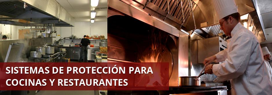 Sistemas de protección para cocinas y restaurantes