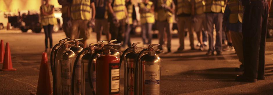 Sistemas y servicios contra incendios